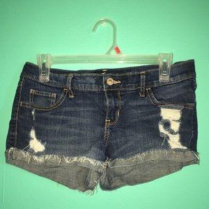 Lowrise Hollister short shorts!
